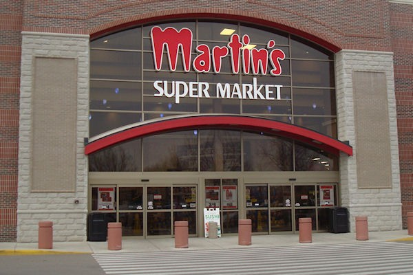 Automatic Sliding Doors at Martin's Supermarket